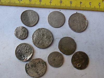Many Old Russian SILVER Coins