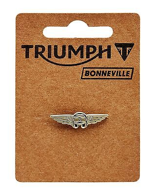 GENUINE Triumph Motorcycles Copper Wing Helmet Pin Badge NEW 2017