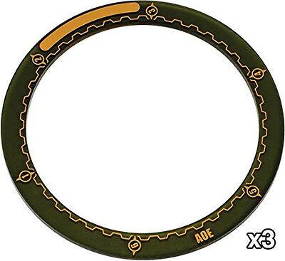 """Warmachine: Accessories - 4"""" Area of Effect Ring Markers"""