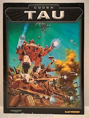 Warhammer 40,000 Tau Codex 2001 RPG Book