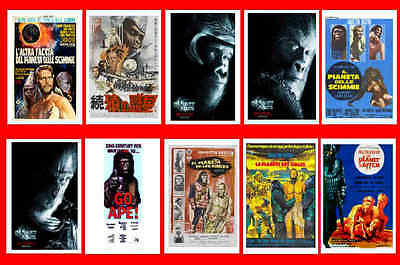 Planet Of The Apes Films - Movie Poster Postcards Set 2