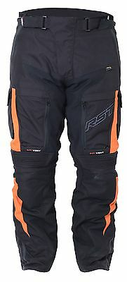 RST Pro Series Adventure 3 III Waterproof  Motorcycle Trousers Orange Model