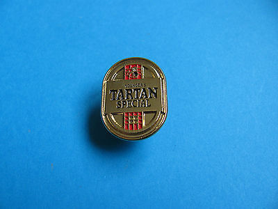 Younger's TARTAN Special Beer pin badge. Unused. VGC