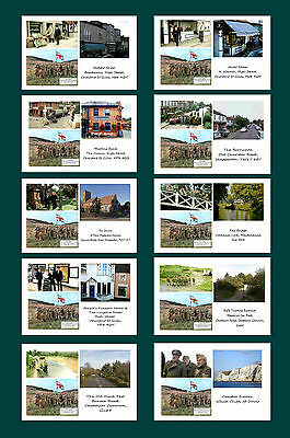 Dads Army (The Movie) - Then & Now - Film Locations Postcard Set