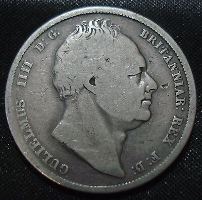 1836 William Iv Silver Halfcrown Nice Collectable Coin