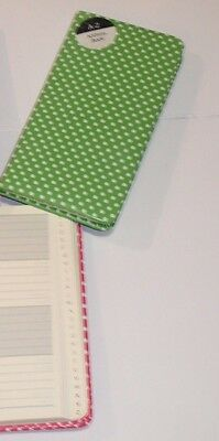 A-Z Slim Pocket Size Address Books Email Telephone Address Name. Green Colour.