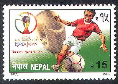 Nepal 2002 Soccer/Football World Cup/Sports 1v ref:b9782