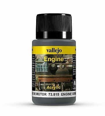 Vallejo Paints: Weathering Effects: Brown Engine Soot (17ml)