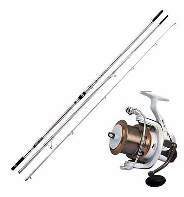 KP2118 Kit Surfcasting Canna Mitchell Avocet 100-250 Gr + Mulinello Fortezz RN
