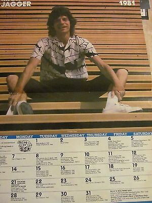 Mick Jagger, The Rolling Stones, Two Page Vintage Centerfold Poster