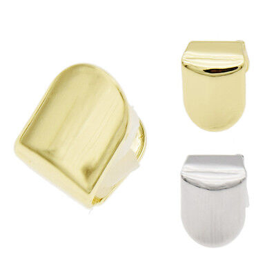 Hip Hop Gold Plated Single Top Tooth Solid Grillz Grill Cap Silicone Mold Kit