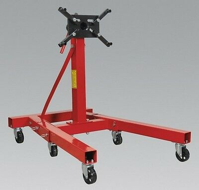 Sealey ES900F Folding Engine Stand 900Kg Adjustable Mounting Arms Equipment