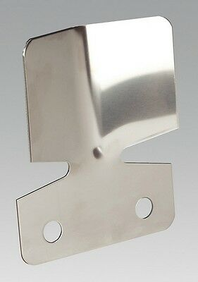 Sealey TB301 Bumper Protection Plate Stainless Steel Protect Bumpers Towing