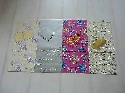 Wrapping Paper special occasions gifts presents 2 sheets with gift tags