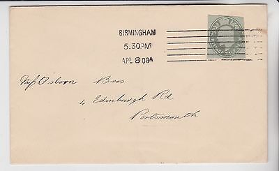 Gb Stamps 1908 King Edward Cut Out On Envelope To Plymouth From Collection