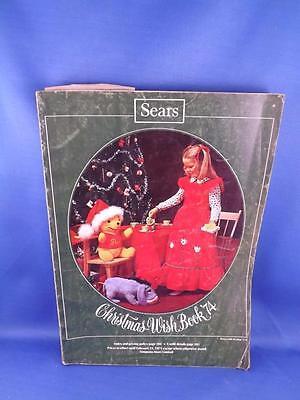 Sears Canada Catalogue Christmas Wish Book 1974 Clothing Toys Gifts Electronics