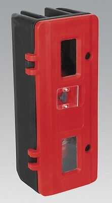 Sealey SFEC01 Fire Extinguisher Cabinet Single Security Home Garage Office