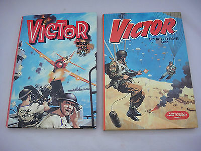 Two Victor Annuals, 1981 and 1982