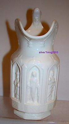 PORCELAIN PITCHER RELIGIOUS by LEO GOLDMAN = LEGO 3354 Style LIKE CHARLES MEIGH