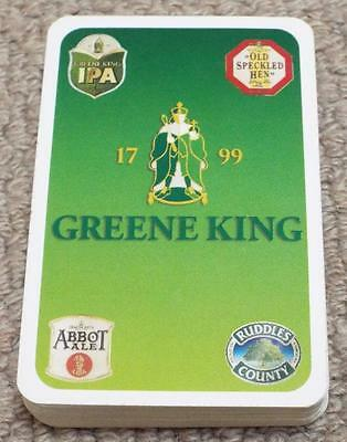 Greene King - Pack of Breweriana Playing Cards