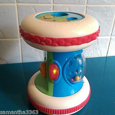 Chicco Spring Roller Activity Toy Musical Light & Sounds Sensory Toy