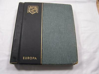 (3153) Stacked Mint Europa Stamp Collection 1956-1988 In Album