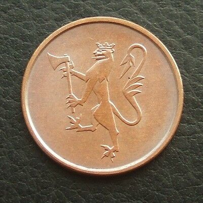Norway 5 Ore 1973 : Minty Choice Unc #01