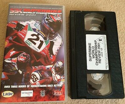 2001 WORLD SUPERBIKE REVIEW - Troy Bayliss Winning Year - VHS VIDEO