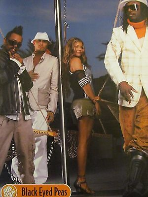 Black Eyed Peas, Relient K, Double Full Page Pinup