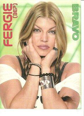 Fergie, Great Full Page Pinup, Black Eyed Peas