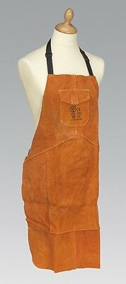 Sealey SSP146 Leather Welding Apron Heavy-Duty Safety Protecting Equipment