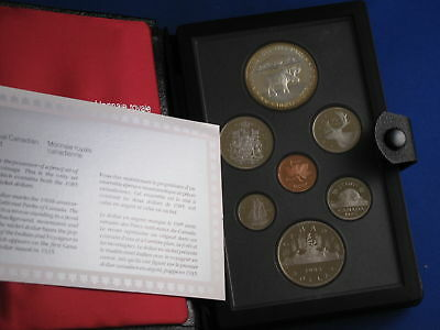 1985 Canada Double Dollar Proof Set with National Parks Silver Dollar B5138