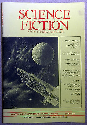 SCIENCE FICTION - Review of Speculative Literature 1985 Vol7 No 1 Gene Wolfe