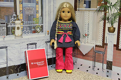 """American Girl Julie """"Tunic Outfit"""" - COMPLETE - NIB"""