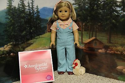 """American Girl Kit """"Chicken Keeping Set"""" Limited Edition - COMPLETE - NIB"""