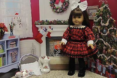 "American Girl Samantha ""Holiday Set"" - COMPLETE - NEW"