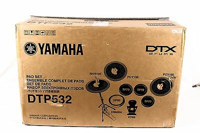 Yamaha Electronic Drum and Cymbal Pad Set for the DTX532 Kit, NEW
