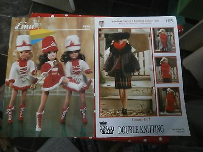 2 dolls clothes knitting patterns