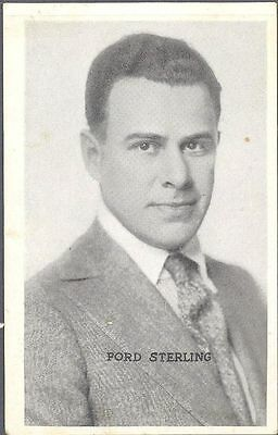 Kromo Gravure - Leading Moving Picture Stars, Set C - Ford Sterling