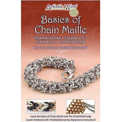 Artistic Wire, 'Basics Of Chain Maille' - Jewelry Technique Instruction Booklet