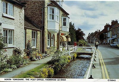 Thornton-Le-Dale Post Office - Yorkshire - Postcard View