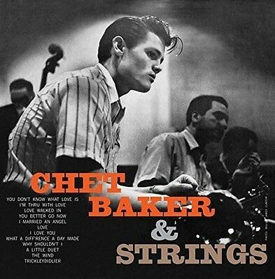 Chet Baker With Strings Lp Vinyl New 33Rpm