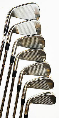 Titleist Ap1 714 Irons 4-Pw Xp S300 Stiff Steel Shafts Vgc Used