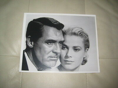Cary Grant And Grace Kelly  8 X 10 Unsigned Picture