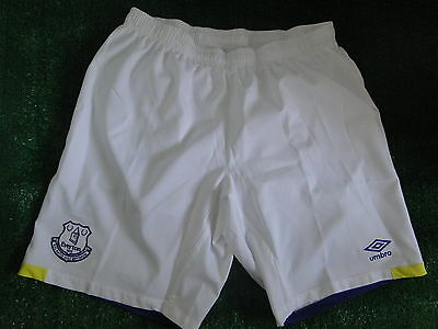 Everton Mens Home Extra Large  Shorts  2016-17 Brand New