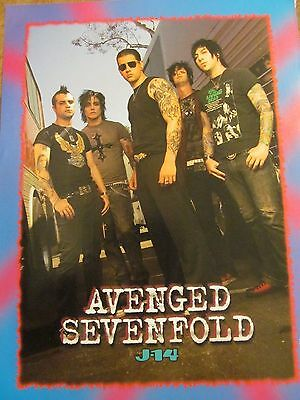 Avenged Sevenfold, Usher, Double Full Page Pinup