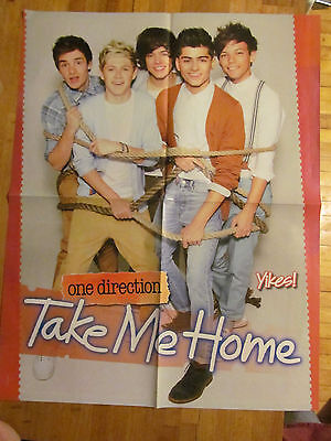 One Direction, Selena Gomez, Double Sided Four Page Foldout Poster