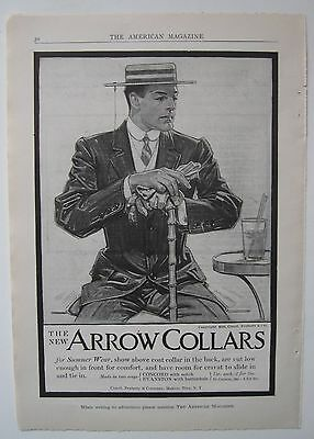 The New Arrow Collars For Summer Wear Ad And Mccoy And Company Investments Ad