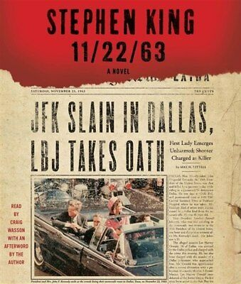 NEW! 11/22/63: A Novel by Stephen King [Audiobook] [Unabridged]