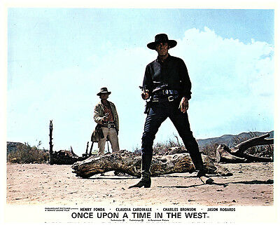 Once Upon A Time In The West Charles Bronson Henry Fonda Original Lobby Card